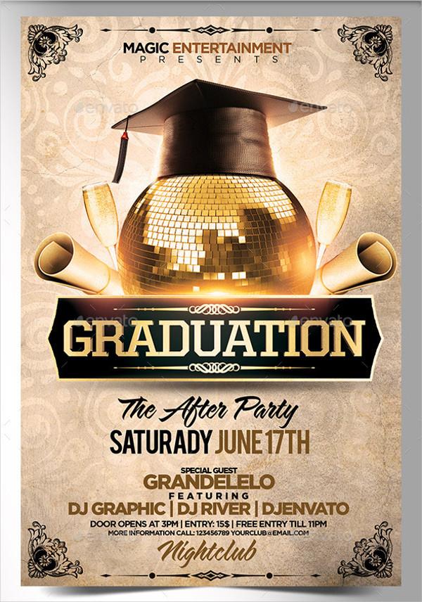 25+ Graduation Party Flyer Templates - Free & Premium Download