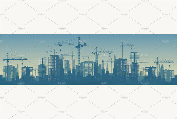 Wide Construction Banners