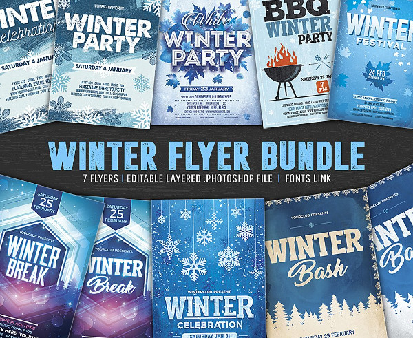 Winter Flyer Bundle