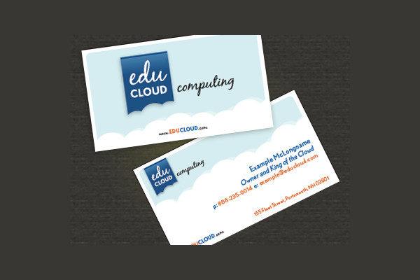 Cloud Computing Business Card