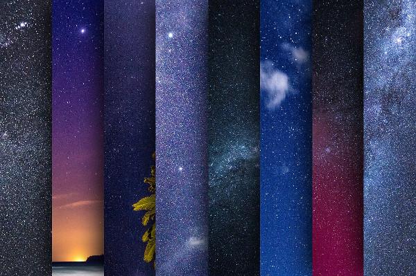 20 Star Backgrounds Bundle