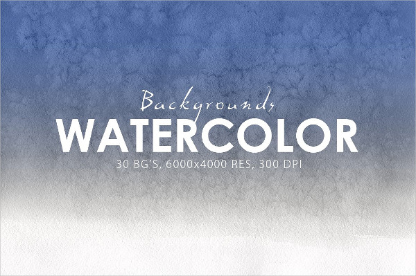 30 Watercolor Gradient Background Collection