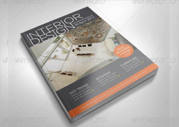 50 Pages Interior Design Magazine Template