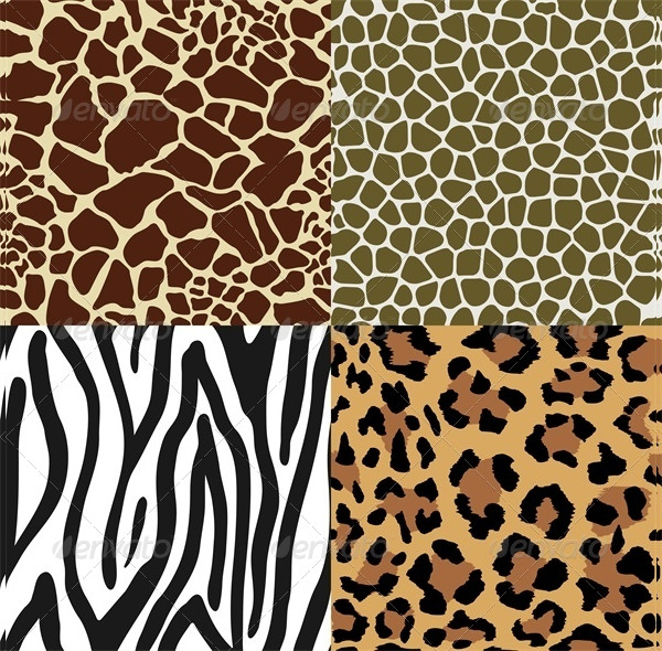 Abstract Animal Skin Patterns