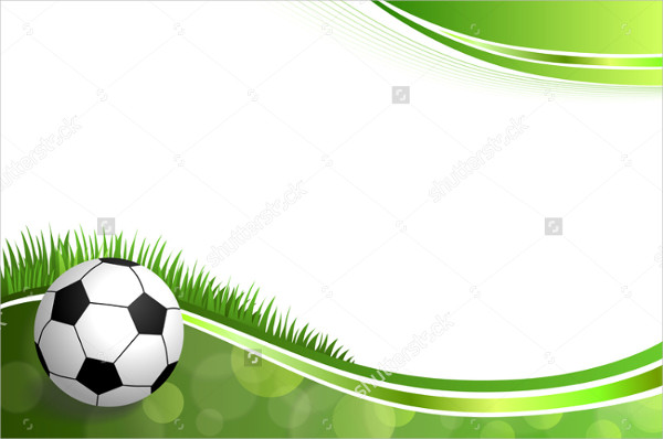 Abstract Green Football Background