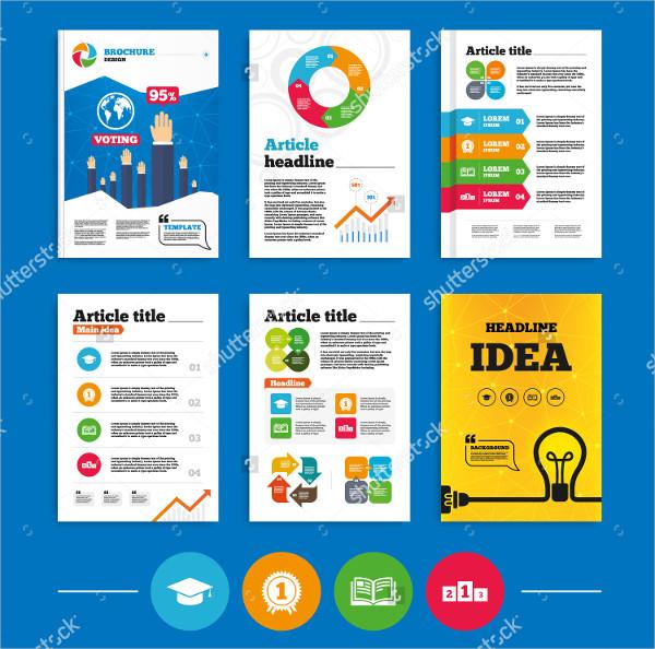 Designed University Brochures