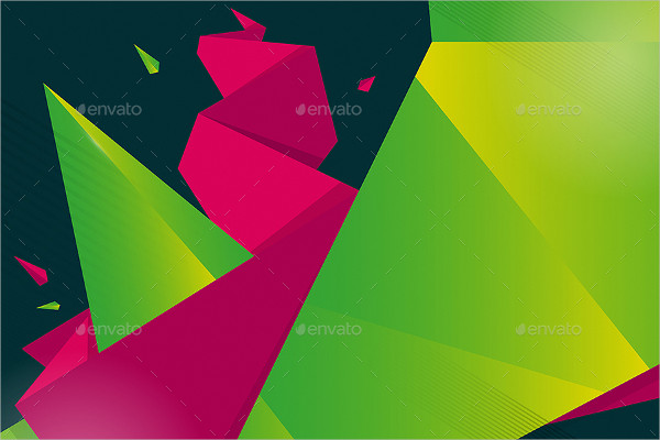 Acute Polygonal Backgrounds