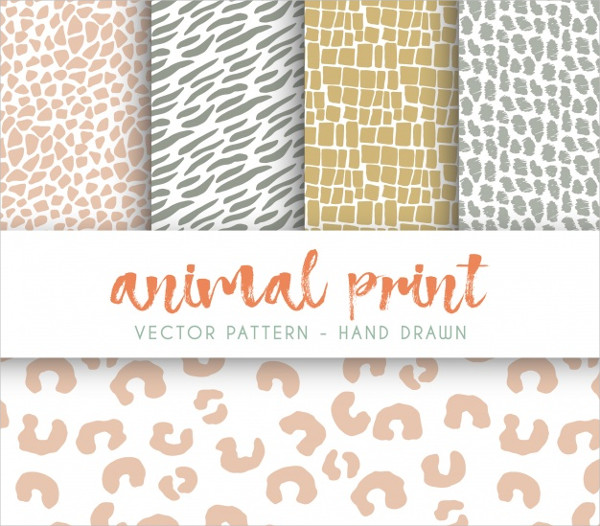 Animal Stains Pattern Collection Free