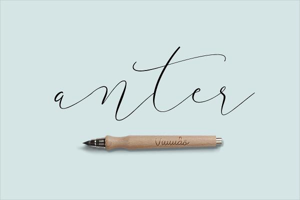 Anter Script Font