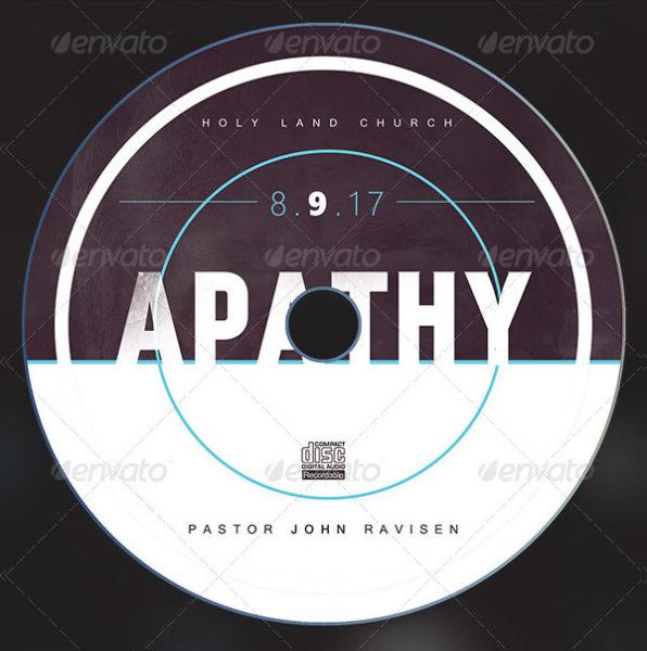 Apathy CD ArtWork Template