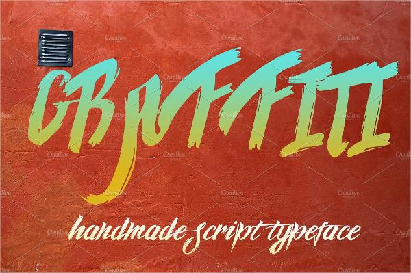 Stylish Graffiti Script Font