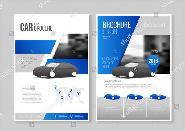 Car Repair Business Brochure Template