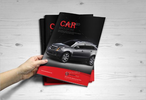 Automotive Car Brochure Catalog InDesign Template