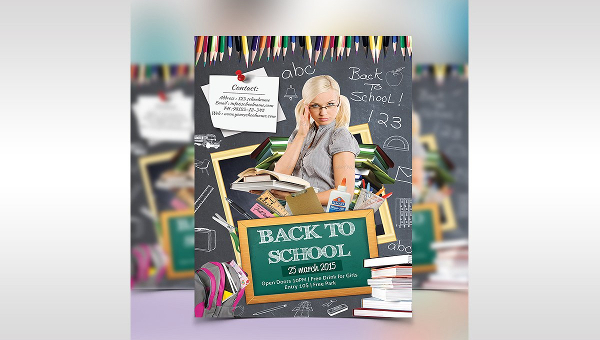 27+ Back To School Flyers
