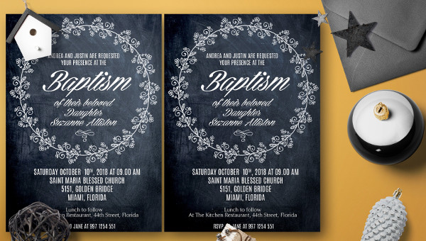 Baptism Invitation