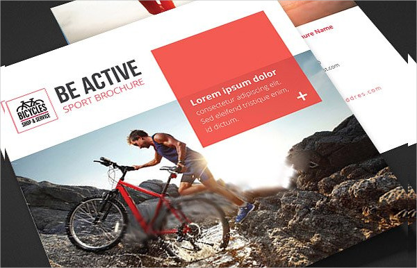 Be Active Sports Trifold Brochure