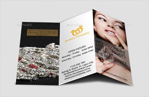 Best Tri-Fold Jewelry Brochure