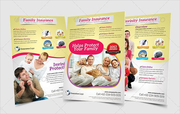 Best Insurance Company Flyer Template
