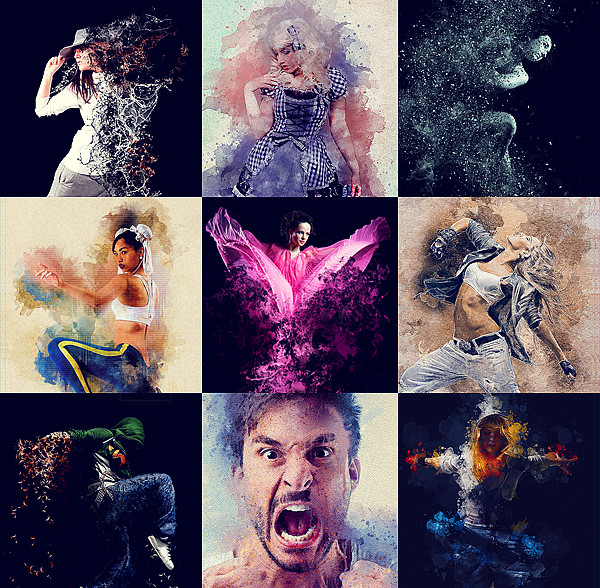 Big Water Photoshop Actions Bundle