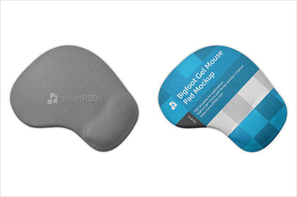Bigfoot Gel Mouse Pad Mockup
