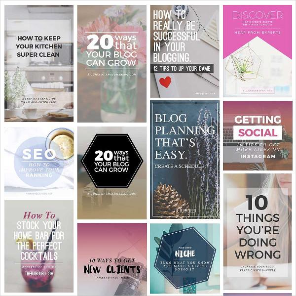 Blog Instagram Pinterest Banners