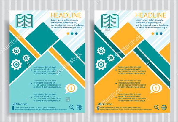 University Vector Brochure Template