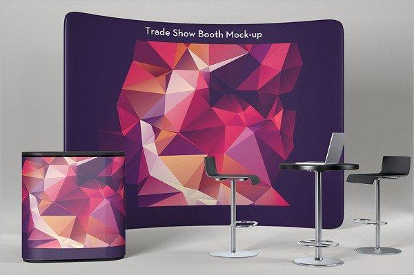 Booth Presentation Mockup