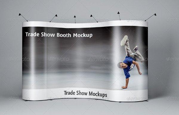 Branding Booth Mock-Ups