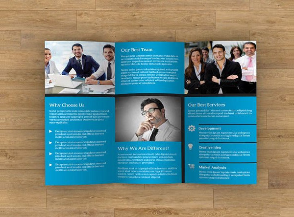 Business Event Minimal Design Brochure