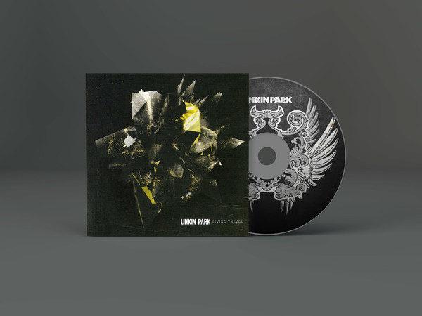 Free CD Artwork Mockup Template