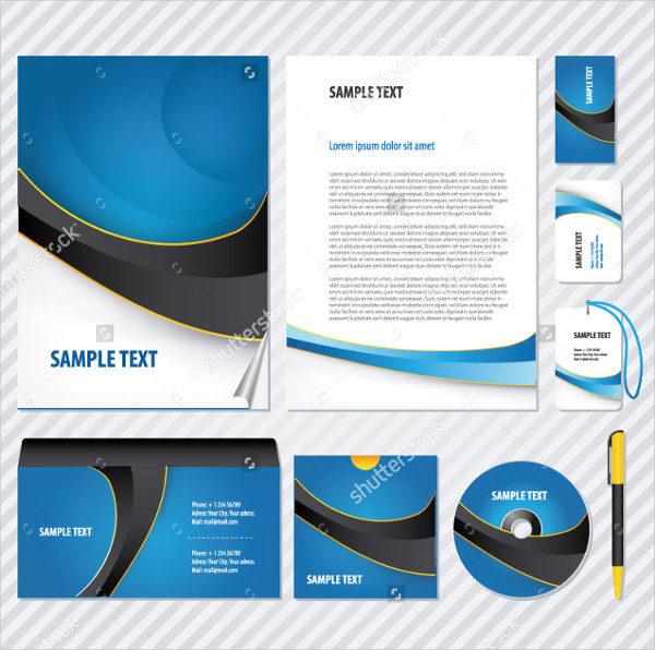 Vector CD Artwork Business Template