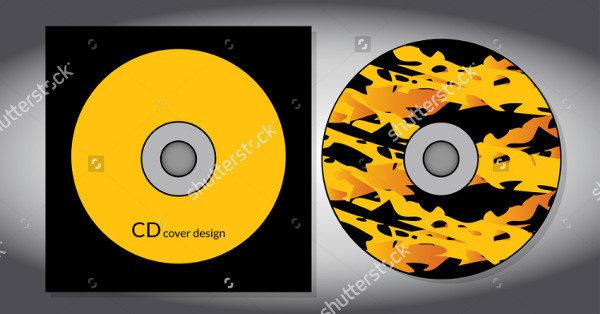 Graphic Design CD Artwork Template