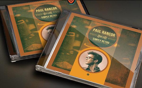 Simply Retro CD Artwork Templates