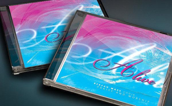 CD Cover Artwork Template
