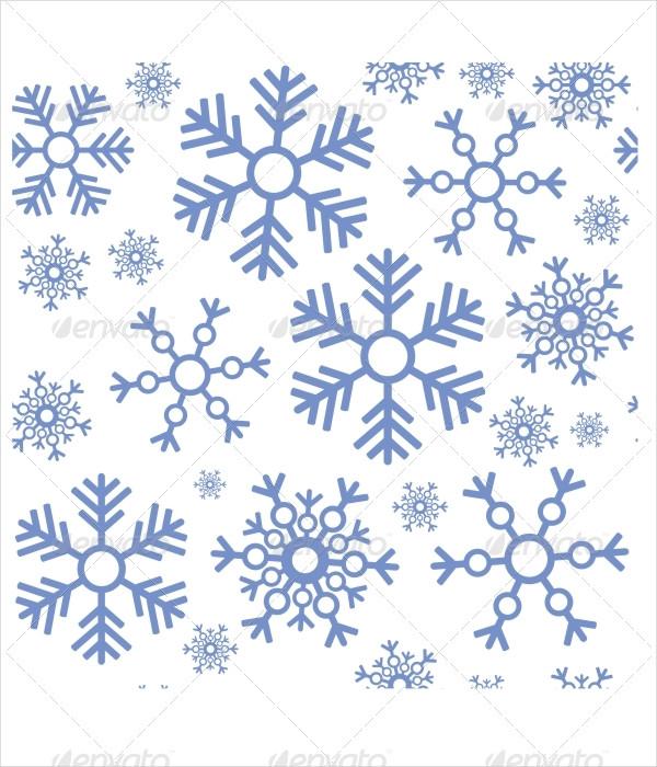 Design Snowflake Texture