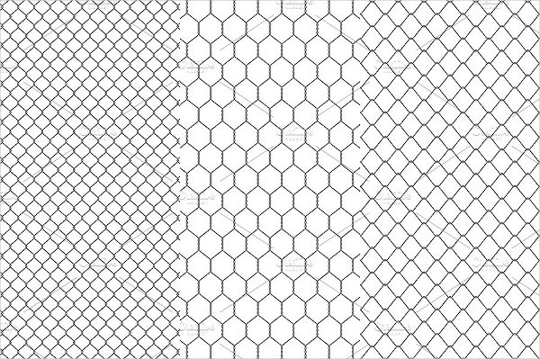 Chainlink Fence Patterns
