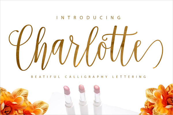 Charlotte Script Fonts