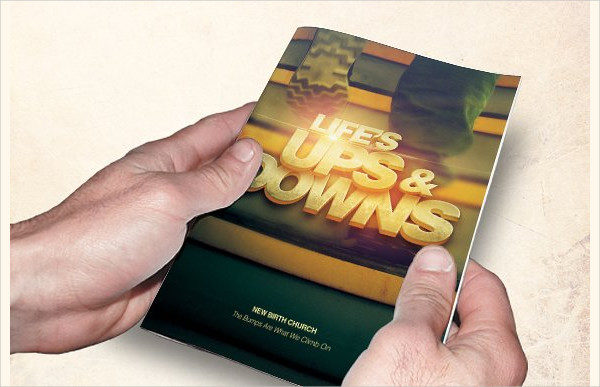 Fully Editable Church Brochure Designs