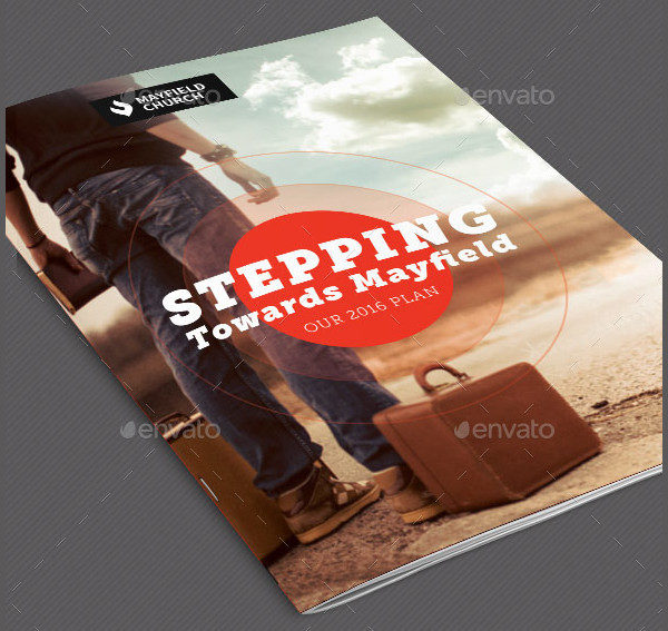 Church Missions Brochure Template
