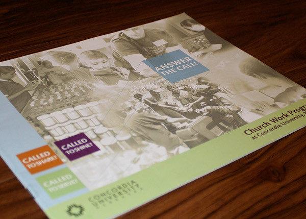 Church Work Brochure Template