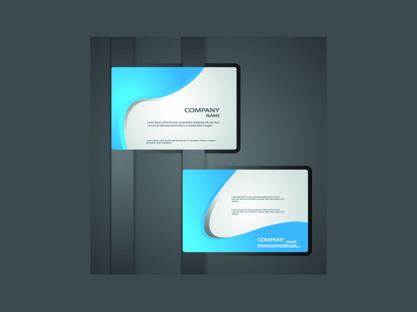 Classic Business Cards Free Vector