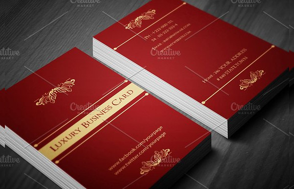 Classic Luxury Business Card