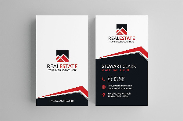 Classic Real Estate Business Card