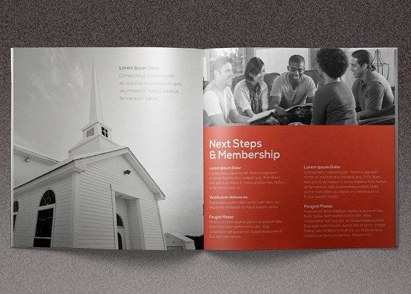 Clean Brochure for Core Church Event