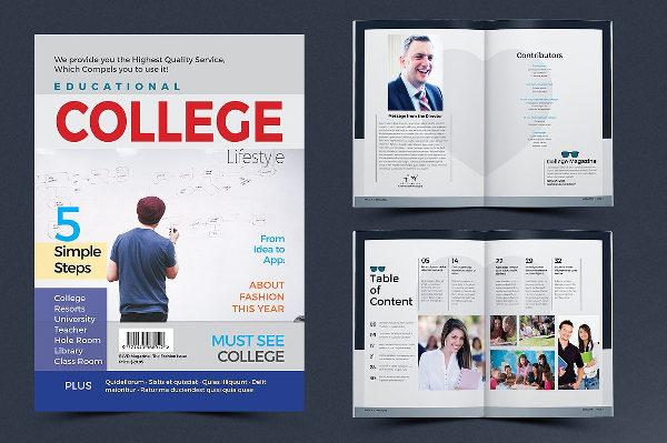 Clean Design Brochure for University