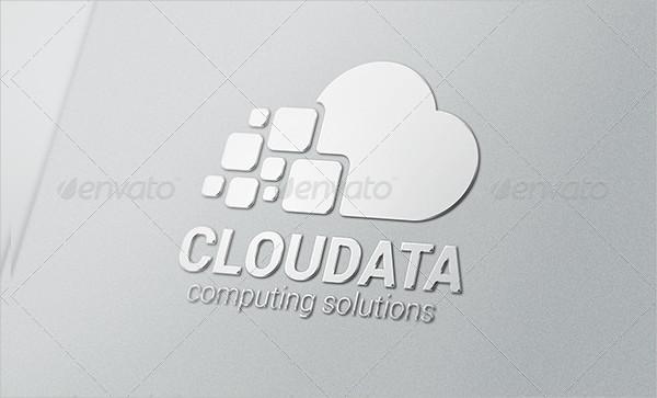 Cloud Computing Data Logo