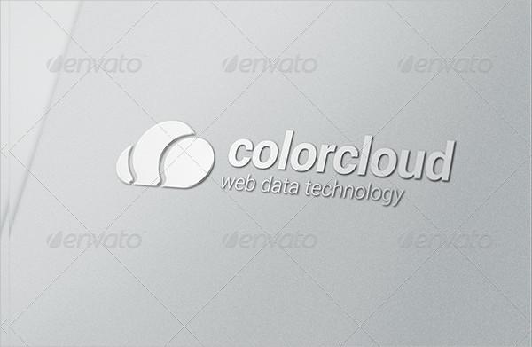 Cloud Computing Logo Bubble Chat