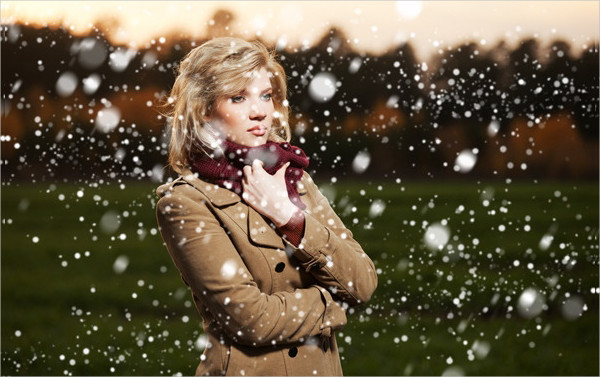 Perfect Snow Photoshop Actions