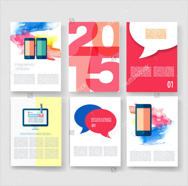 Collection Of Marketing Brochures