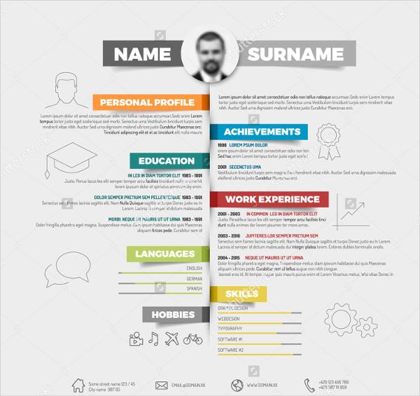 27  infographic resume